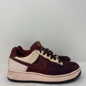 Nike Air Force One Deep Burgundy